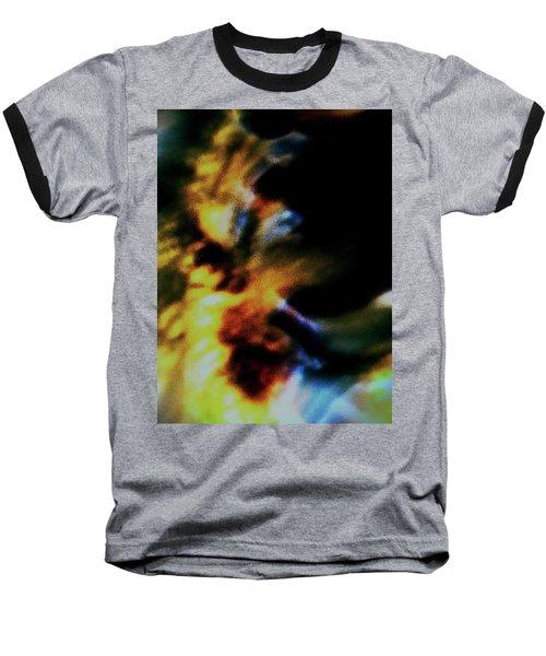 Shell Dancing Baseball T-Shirt by Gina O'Brien