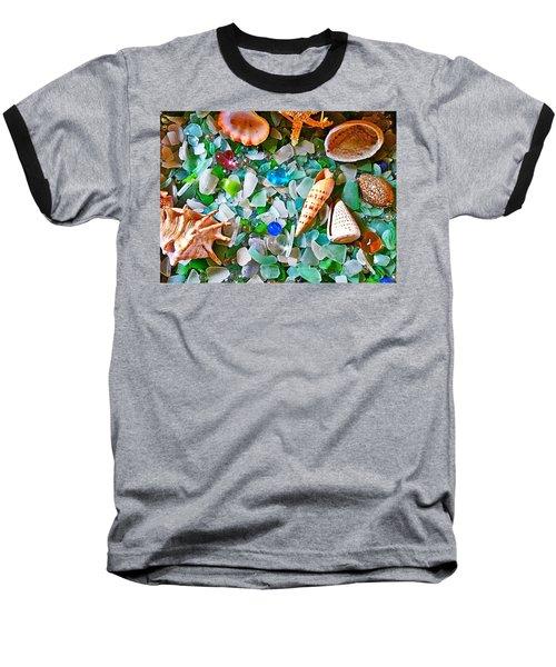 Shells And Glass Baseball T-Shirt