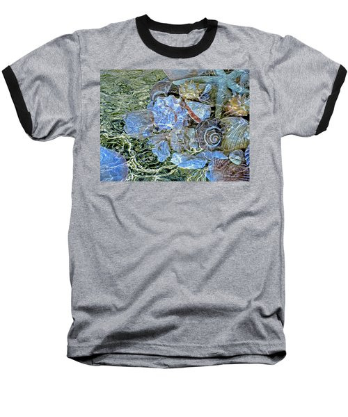 Shells Underwater 20 Baseball T-Shirt