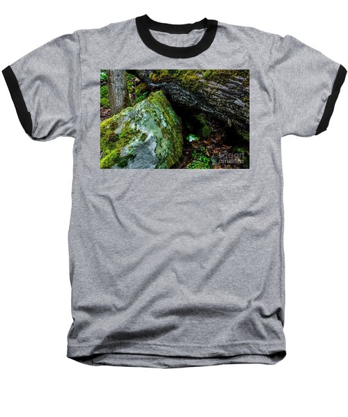 Sheltered By The Rock Baseball T-Shirt