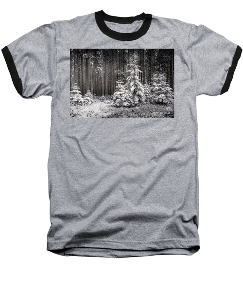 Baseball T-Shirt featuring the photograph Sheltered Childhood by Hannes Cmarits