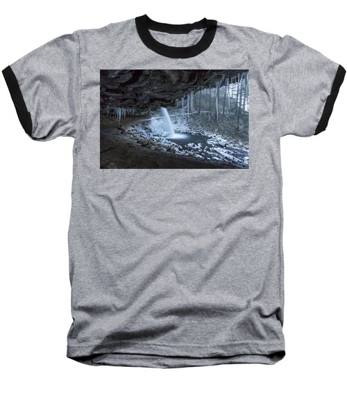 Sheltered From The Blizzard Baseball T-Shirt