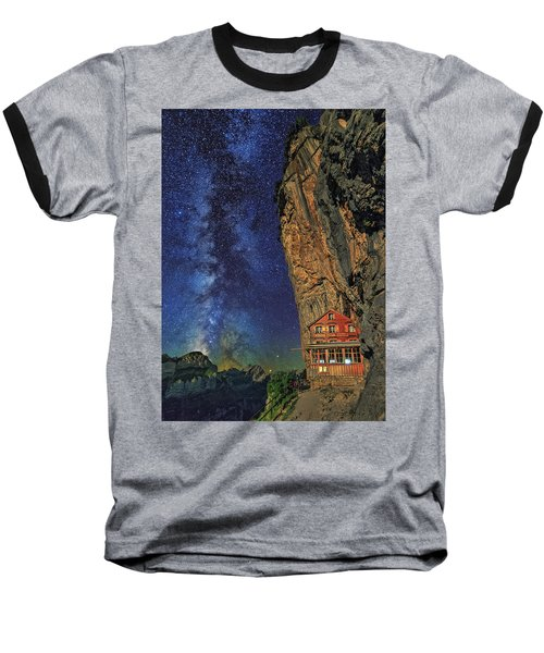 Sheltered From The Vastness Baseball T-Shirt