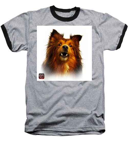 Sheltie Dog Art 0207 - Wb Baseball T-Shirt