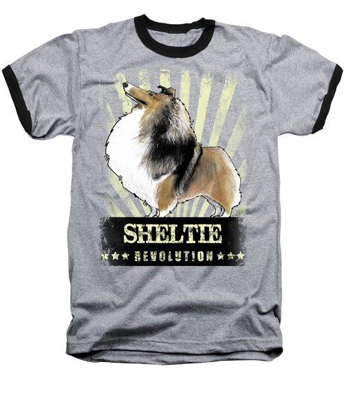 Sheltie Revolution Baseball T-Shirt