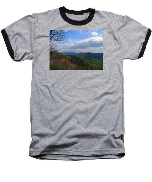Baseball T-Shirt featuring the photograph Shenandoah Skies by Lynda Lehmann