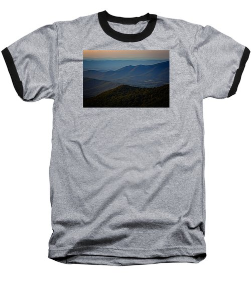 Shenandoah Valley At Sunset Baseball T-Shirt by Rick Berk