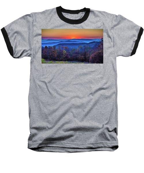 Shenandoah Valley Sunset Baseball T-Shirt