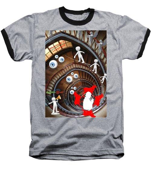 Sherlocks Labyrinth Baseball T-Shirt