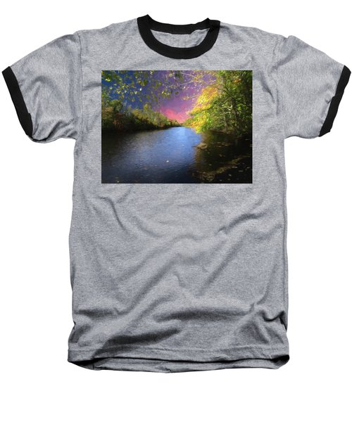 Shetucket River Ct. Baseball T-Shirt