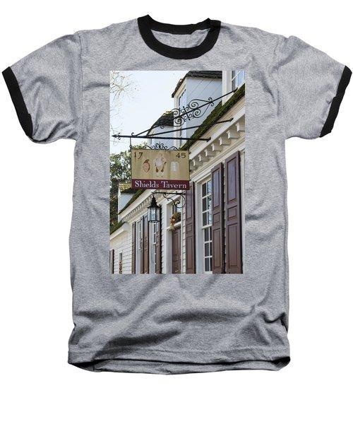 Shields Tavern Sign Baseball T-Shirt