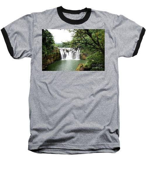 Shifen Waterfall  Baseball T-Shirt