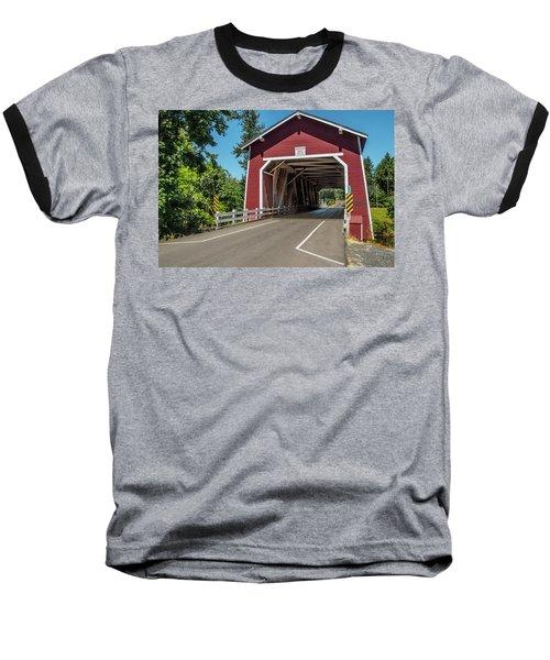 Shimanek Covered Bridge Baseball T-Shirt