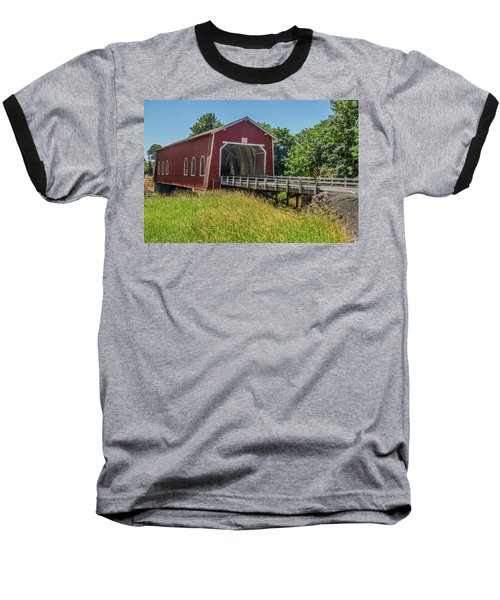 Shimanek Covered Bridge No. 2 Baseball T-Shirt
