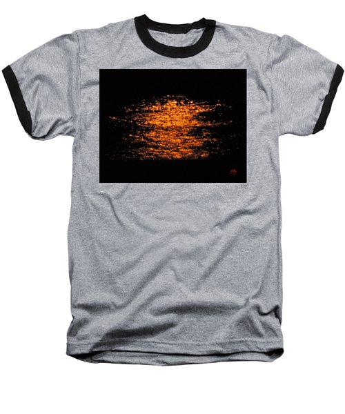 Baseball T-Shirt featuring the photograph Shimmer by Linda Hollis