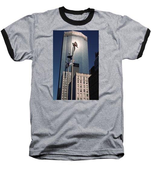 Shimmering Ids Baseball T-Shirt