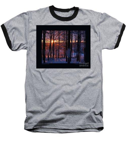 Shimmery Sunrise Baseball T-Shirt