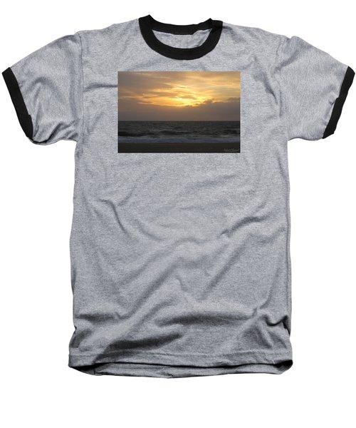 Baseball T-Shirt featuring the photograph Shining Clouds by Robert Banach
