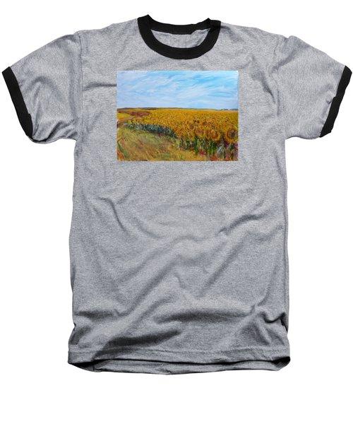Sunny Faces Baseball T-Shirt