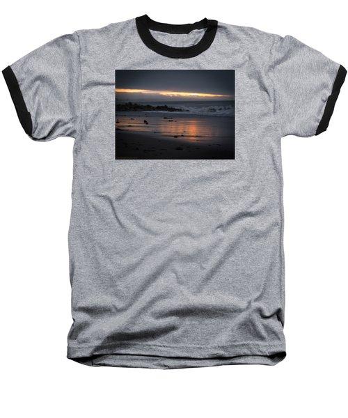 Baseball T-Shirt featuring the photograph Shining Sand by Lora Lee Chapman