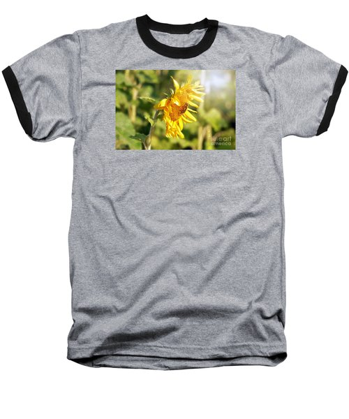 Baseball T-Shirt featuring the photograph Shining Sun by Lila Fisher-Wenzel