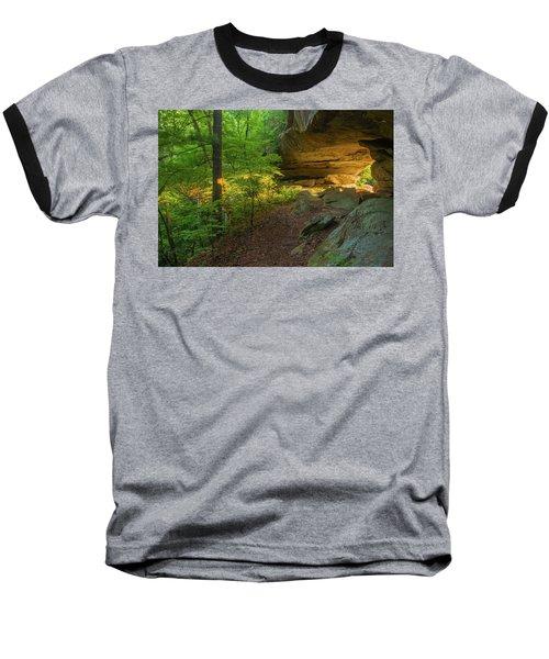 Shining Through.... Baseball T-Shirt by Ulrich Burkhalter