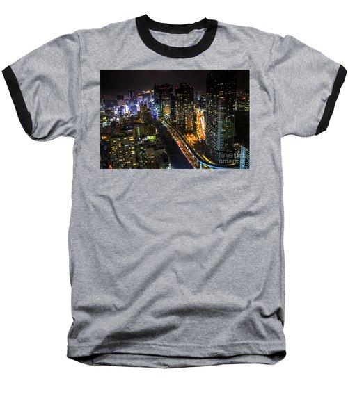 Shiodome Skyline Tokyo Baseball T-Shirt