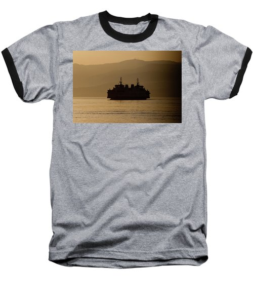 Baseball T-Shirt featuring the digital art Ship by Bruno Spagnolo