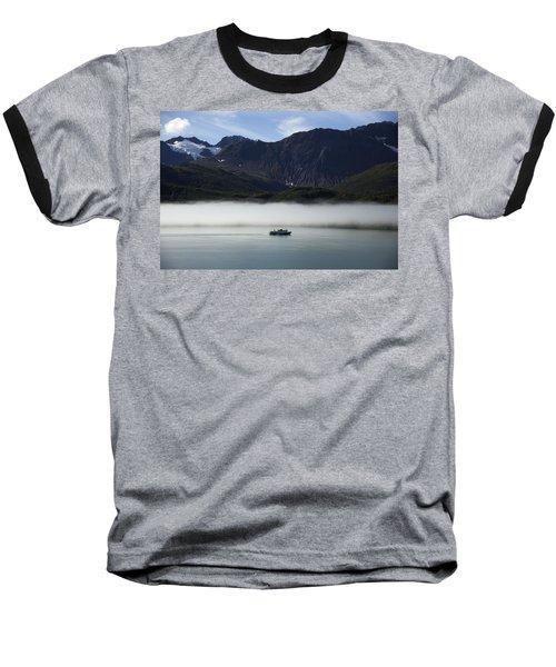 Ship In The Fog Baseball T-Shirt