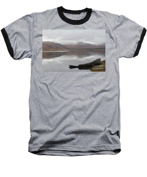 Ship Reck On Isle Of Mull Baseball T-Shirt