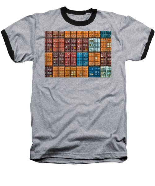 Shipping Containers Baseball T-Shirt