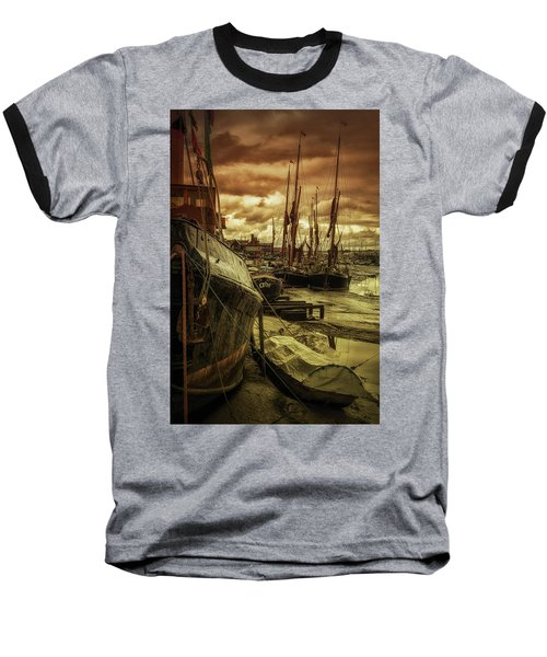 Ships From Essex Maldon Estuary Baseball T-Shirt