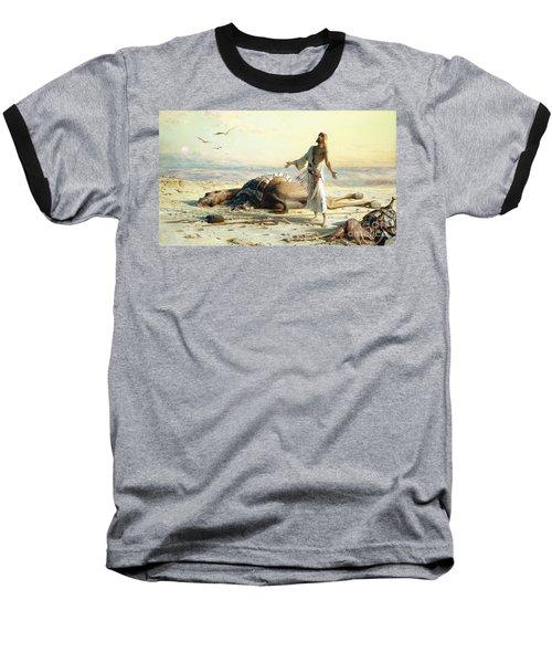 Shipwreck In The Desert Baseball T-Shirt