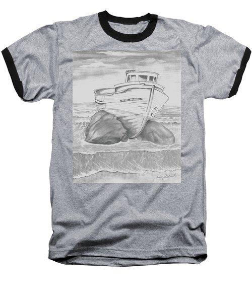 Shipwreck Baseball T-Shirt