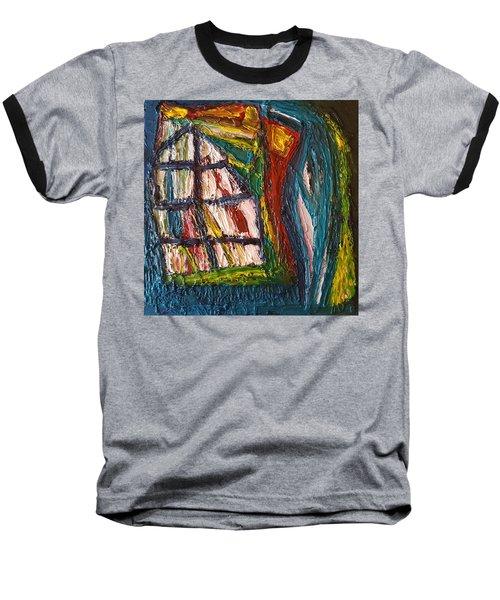 Shipwrecked Baseball T-Shirt by Darrell Black