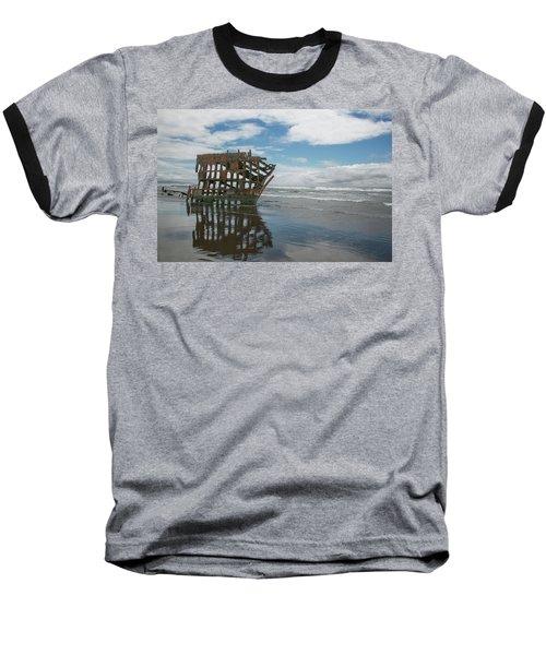 Baseball T-Shirt featuring the photograph Shipwreck by Elvira Butler