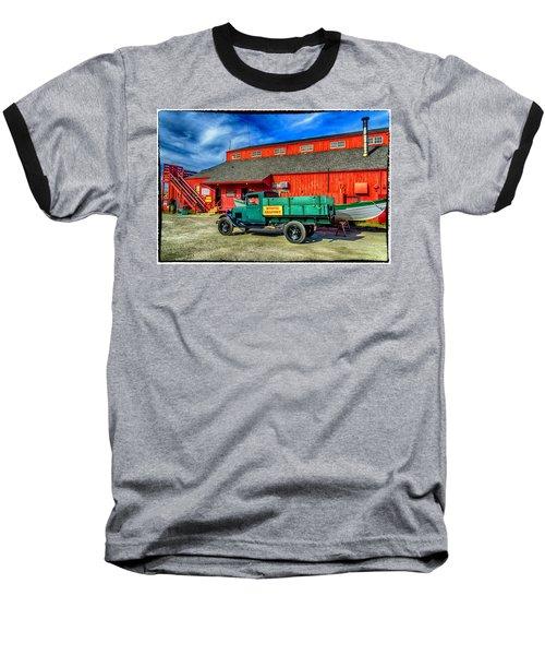 Shipyard Work Truck Baseball T-Shirt