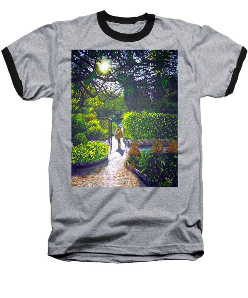 Shirley At Chalice Well Baseball T-Shirt