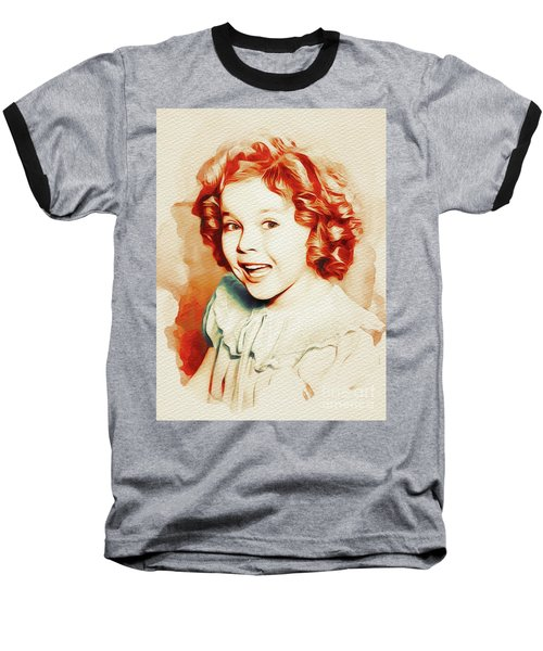 Shirley Temple, Movie Star Baseball T-Shirt