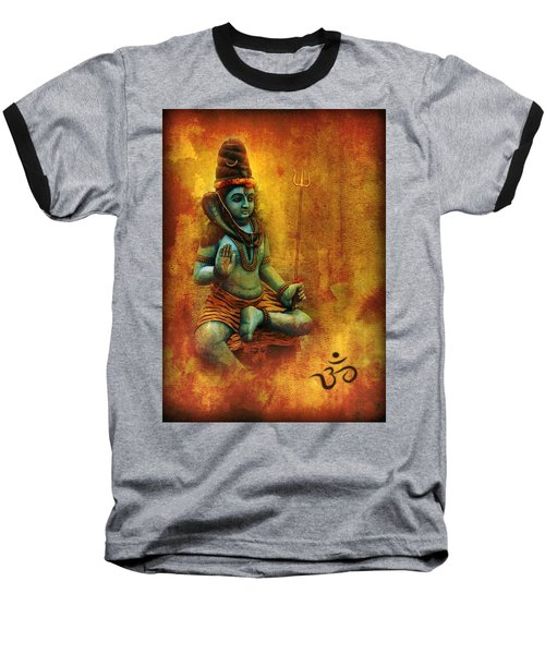 Shiva Hindu God Baseball T-Shirt