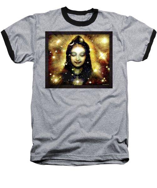 Shiva In Golden Space  Baseball T-Shirt
