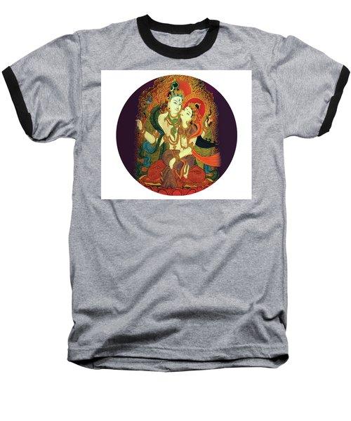 Shiva Shakti Baseball T-Shirt
