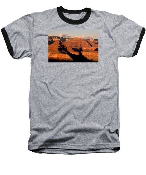 Shiva Temple  At Sunset Grand Canyon National Park Baseball T-Shirt