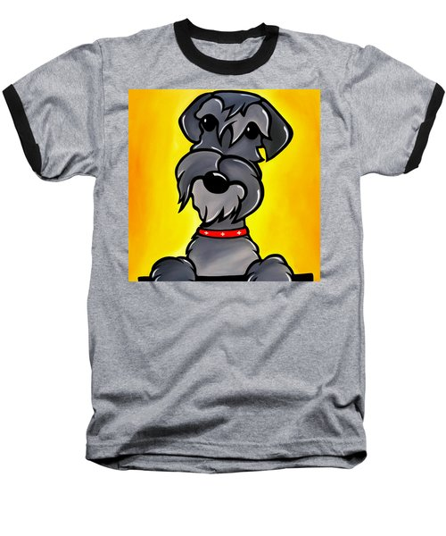 Shnoz Baseball T-Shirt by Tom Fedro - Fidostudio