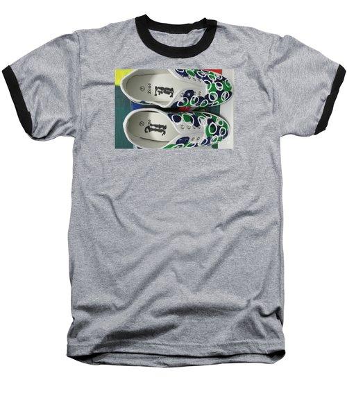 Shoe Art - 009 Baseball T-Shirt by Mudiama Kammoh