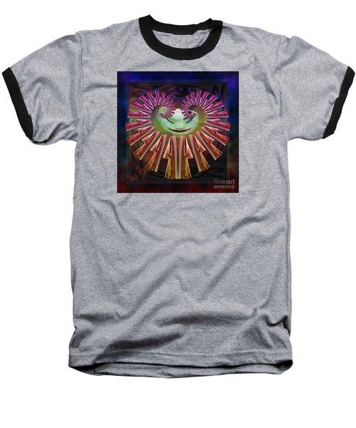 Shoes Nightmare Baseball T-Shirt by Rosa Cobos