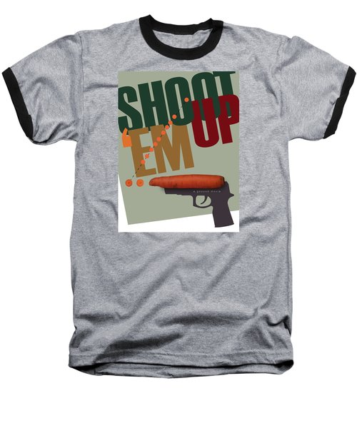 Shoot 'em Up Movie Poster Baseball T-Shirt