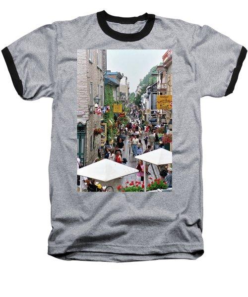 Baseball T-Shirt featuring the photograph Shop Till One Drops by John Schneider