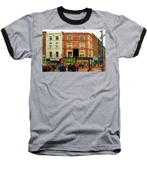 shopping on Grafton Street in Dublin Baseball T-Shirt