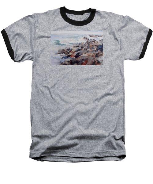 Shore's Rocky Baseball T-Shirt by P Anthony Visco
